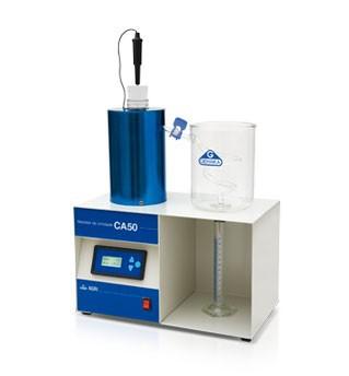 Medidor de humedad por destilación