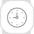 Tiempo de operación de 40 a 50 minutos